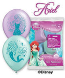 Disney Princess Little Mermaid Ariel Latex Balloons