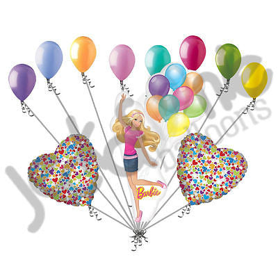 Barbie Celebration Balloon Bouquet