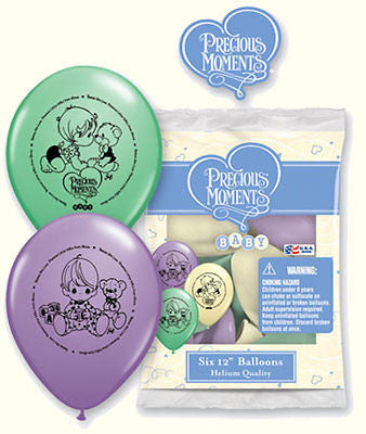 Precious Moments Baby Latex Balloons