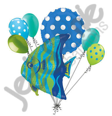 Angel Fish Balloon Bouquet
