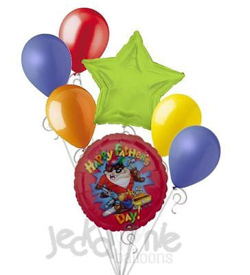 Looney Tunes Taz Happy Father's Day Balloon Bouquet