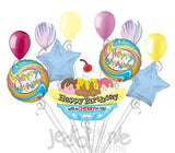 Ice Cream Sundae Banana Split Happy Birthday Balloon Bouquet