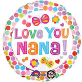 Love You Nana! Balloon Bouquet