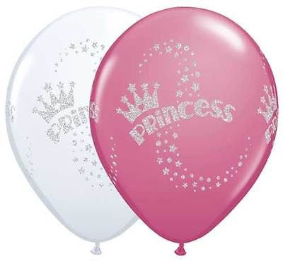 Qualatex Glitter Princess Latex Balloons