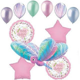 Prismatic Dragonfly Happy Birthday Balloon Bouquet