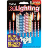 Magic ReLighting Party Cake Candles