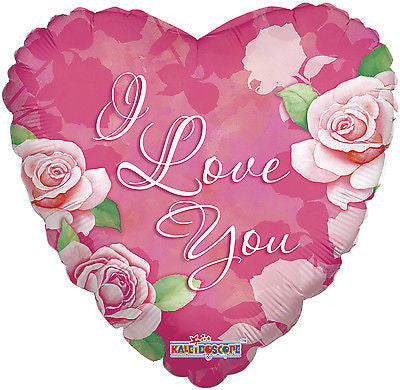 Pink Roses I Love You Balloon Bouquet Jeckaroonie Balloons