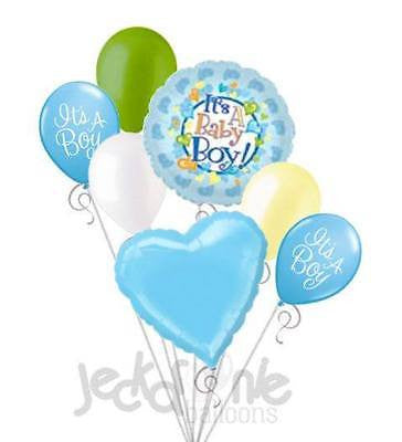 It's a Baby Boy Footsie Balloon Bouquet