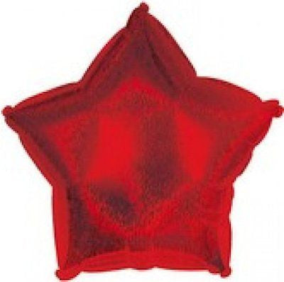 Dazzeloon Red Star Decorator Balloon