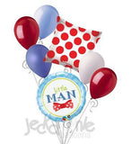 Little Man Bow-Tie Balloon Bouquet
