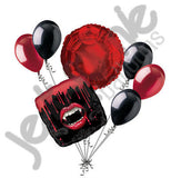 Fangtastic Vampire Lips Halloween Balloon Bouquet