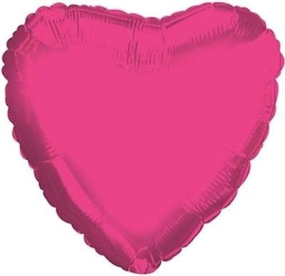 Hot Pink Heart Decorator Balloon