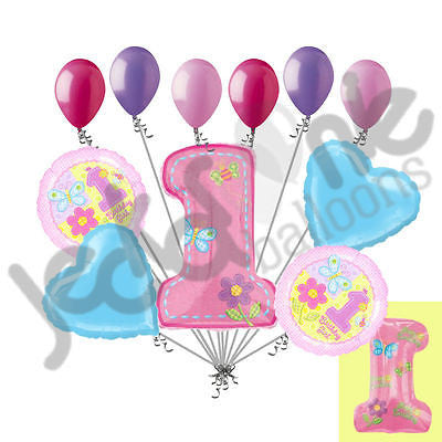 Hugs & Stitches 1st Happy Birthday Balloon Bouquet