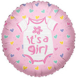 It's a Baby Girl Onesie Balloon Bouquet