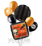 It's Halloween Be Very Afraid Balloon Bouquet