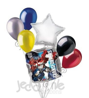 Transformers Optimus Prime & Bumblebee Balloon Bouquet