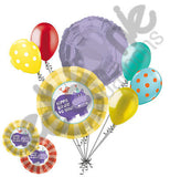 Hippo Birdie to You Happy Birthday Balloon Bouquet