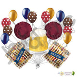 Frosty Beer Mug Here's to you Balloon Bouquet