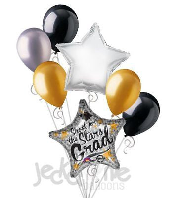 Shoot for the Stars Grad Balloon Bouquet
