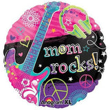 Neon Music Mom Rocks! Balloon Bouquet