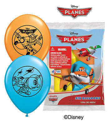 Disney Planes Latex Balloons