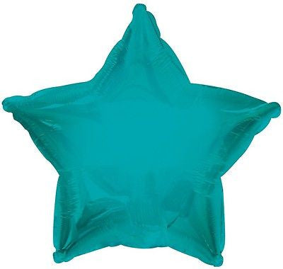 Turquoise Star Decorator Balloon