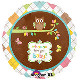 Whoooo Loves You Owl Baby Gender Neutral Balloon Bouquet