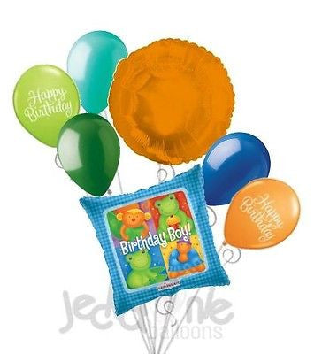 Sweet Animals Happy Birthday Boy Balloon Bouquet