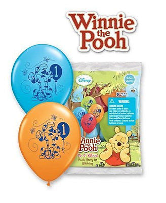 d3c086cfe123 Disney Winnie the Pooh   Friends 1st Latex Balloons – Jeckaroonie Balloons