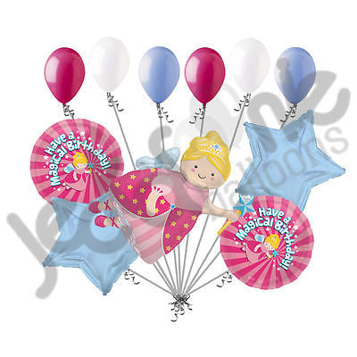 Fairy Godmother Magical Birthday Balloon Bouquet