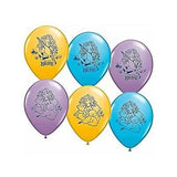 Disney Princess Merida Brave Printed Latex Balloons