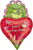 You're Unfroggetable Frog Heart Balloon Bouquet