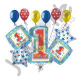 Onederful 1st Birthday Boy Balloon Bouquet