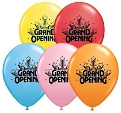 Qualatex Grand Opening Latex Balloons