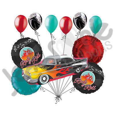 Rock-n-Roll Muscle Car Balloon Bouquet