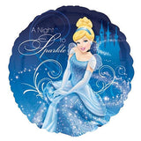 Disney Princess Cinderella Sparkles 2 Balloon Bouquet