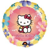 Hello Kitty Flower Border Balloon Bouquet