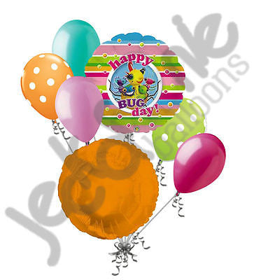 Miss Spider Happy Bug Day Birthday Balloon Bouquet