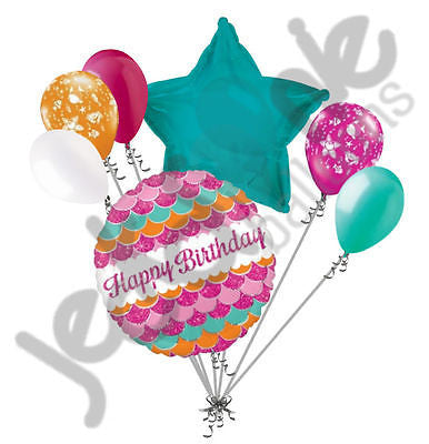 Sparkle Fish Happy Birthday Balloon Bouquet