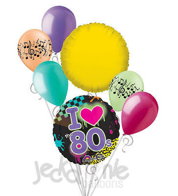 I Totally Love the 80's Balloon Bouquet