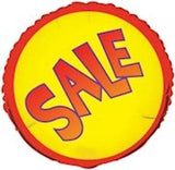 Red & Yellow Sale Round Promotional Balloon