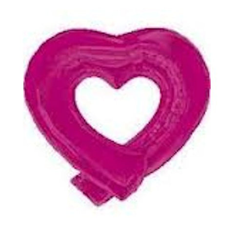 "36"" Magenta Heart Wrap Balloon"