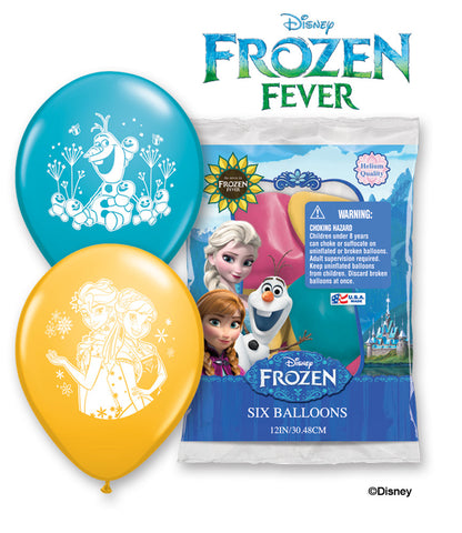Disney Frozen Fever Latex Balloons