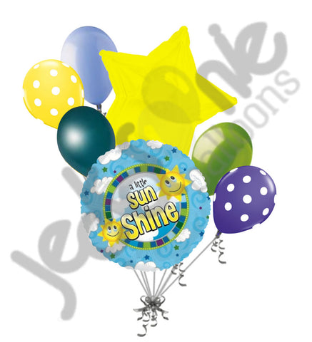 A Little Sunshine Balloon Bouquet