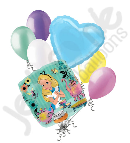 Alice in Wonderland Mad Tea Party Balloon Bouquet