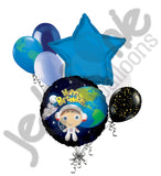 Astronaut Space Boy Happy Birthday Balloon Bouquet