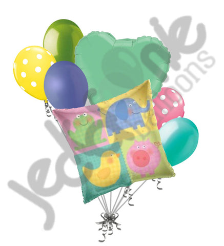 Baby Animals Balloon Bouquet