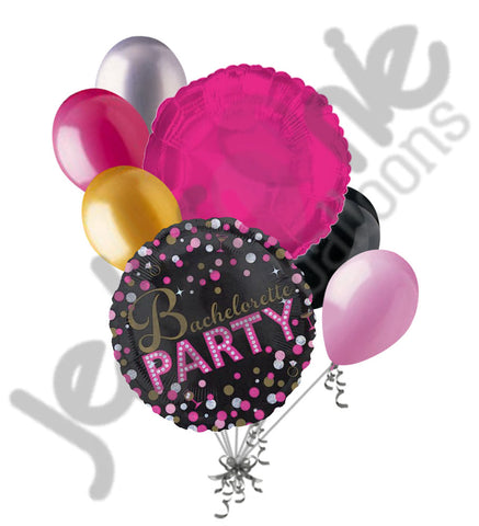Bachelorette Party Sassy & Sparkles Balloon Bouquet