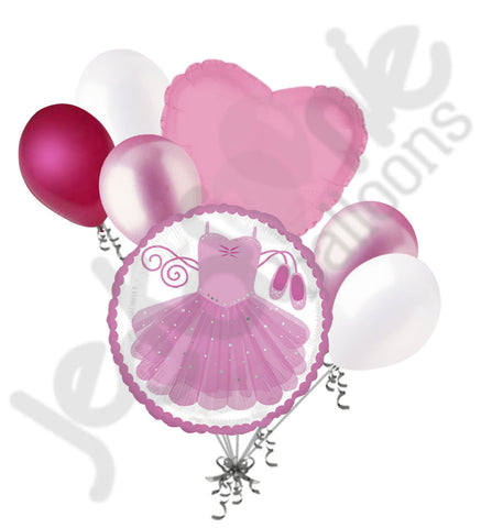 Ballerina Tutu Balloon Bouquet