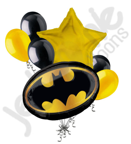 Batman Emblem Balloon Bouquet